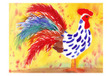 Farm House Rooster II Posters by Beverly Dyer