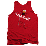 Tank Top: Sesame Street- Elmo Free Hugs Tank Top