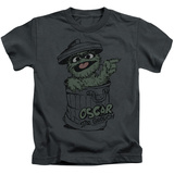 Juvenile: Sesame Street- Early Grouch T-shirts