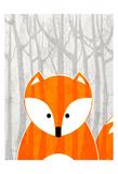 Woodland Fox Art by Kimberly Allen