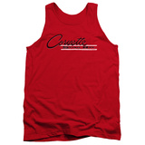 Tank Top: Chevy- Vintage Sting Ray Logo Tank Top