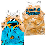 Tank Top: Sesame Street- That's How Cookie Crumble (Front/Back) Tank Top