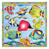 Fish Pattern Prints by Anne Ormsby