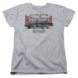 Womens: Chevy- Distressed El Camino SS Shirts