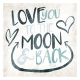 To The Moon Prints by  OnRei