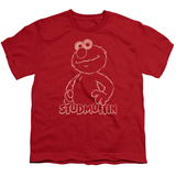 Youth: Sesame Street- Elmo Studmuffin Shirts