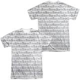 Sesame Street- Tiled Logo (Front- Back) Shirts