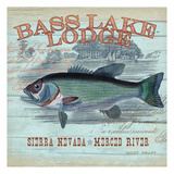 Bass Lake Prints by  Ophelia & Co.