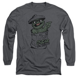 Long Sleeve: Sesame Street- Early Grouch Long Sleeves
