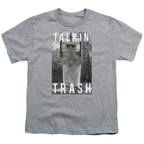 Youth: Sesame Street- Oscar Talkin Trash T-Shirt