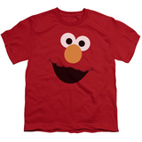 Youth: Sesame Street- Big Elmo Face T-shirts