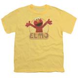 Youth: Sesame Street- Elmo Hug Ready T-shirts