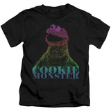 Youth: Sesame Street- Subdued Cookie Monster T-shirts