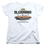 Womans: Chevy- El Camino Incredible Truck T-Shirt