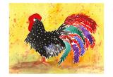 Farm House Rooster I Art par Beverly Dyer