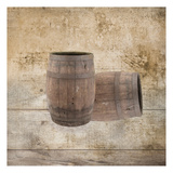 Wine Barrels Posters by Victoria Brown