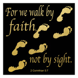 Walk By Faith 3 Art by Alonzo Saunders