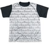 Youth: Sesame Street- Tiled Logo Black Back T-shirts