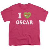 Youth: Sesame Street- I Heart Oscar T-shirts