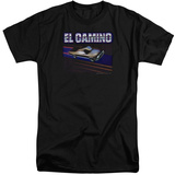 Chevy- El Camino Dash (Tall) T-shirts