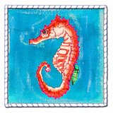 Beach Seahorse Posters by Anne Ormsby
