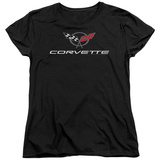 Womans: Chevy- Modern Corvette Logo Shirts