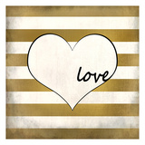 Love Heart Prints by Kimberly Allen