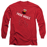 Long Sleeve: Sesame Street- Elmo Free Hugs Long Sleeves