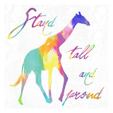 Stand Tall and Proud Plakat autor Sheldon Lewis