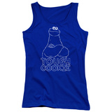Juniors Tank Top: Sesame Street- Tough Cookie Shirt
