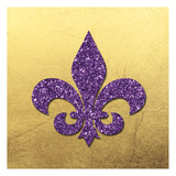Fleur De Lis Prints by Victoria Brown