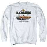 Crewneck Sweatshirt: Chevy- El Camino Incredible Truck T-shirts