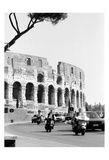 Colessium With Moped Rome Prints by Jeff Pica