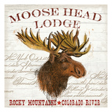 Moose Lodge Prints by  Ophelia & Co.