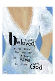 Weddings Beloved Prints by Cherie Burbach