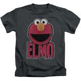 Juvenile: Sesame Street- Big Smile Elmo Shirt