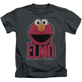Youth: Sesame Street- Big Smile Elmo Shirt