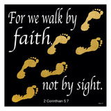 Walk By Faith 2 Posters par Alonzo Saunders