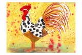 Farm House Rooster IV Poster par Beverly Dyer