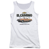 Juniors Tank Top: Chevy- El Camino Incredible Truck T-shirts