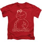 Juvenile: Sesame Street- Elmo Studmuffin T-shirts
