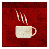 Red Coffee 2 Prints by Kimberly Allen
