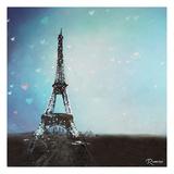 Paris Twilight Canvas Print by Michael Romero