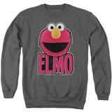 Crewneck Sweatshirt: Sesame Street- Big Smile Elmo Shirts