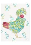 Funky Chicken 1 Affiches par Beverly Dyer