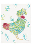 Funky Chicken 1 Prints by Beverly Dyer
