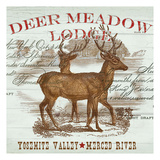 Deer Meadow Print by  Ophelia & Co.