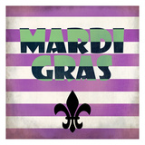 Mardi Gras Posters by Kimberly Allen