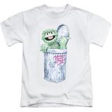 Juvenile: Sesame Street- Oscar About That Street Life T-shirts