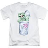 Youth: Sesame Street- Oscar About That Street Life T-shirts